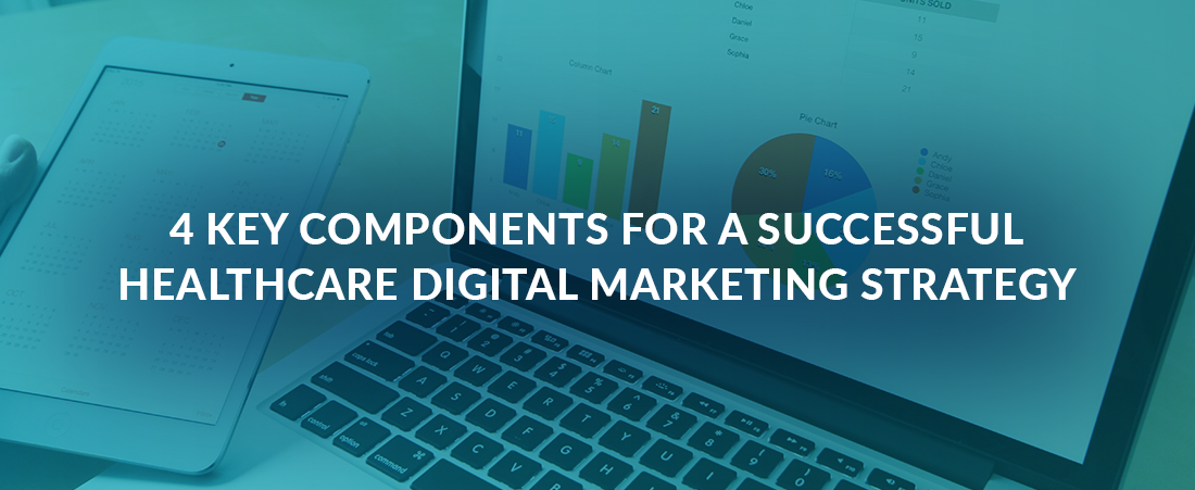 4 Key Components for a Successful Healthcare Digital Marketing Strategy
