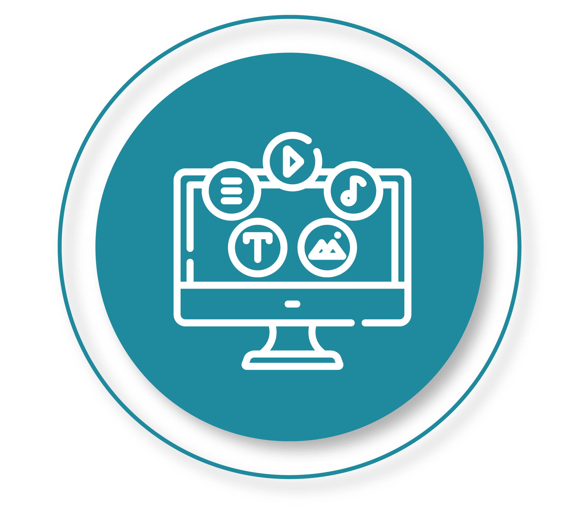 desktop screen icon