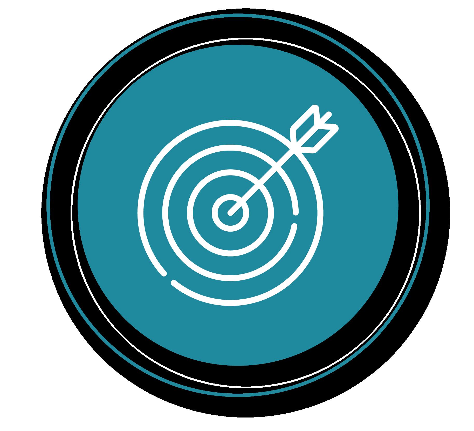 arrow on target icon